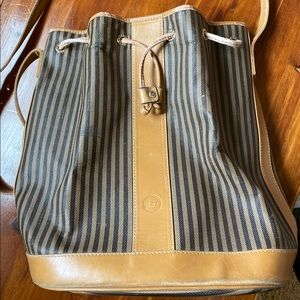 Vintage Fendi Bucket Bag purse